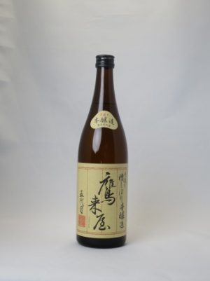 鷹来屋五代目(たかきやごだいめ)【日本酒】『旨口本醸造』720ML 浜嶋酒造